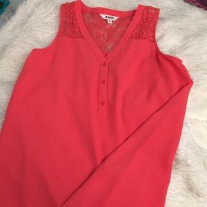 NWOT mini dress lace back